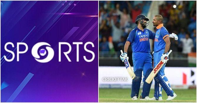 DD Sports Live Streaming Cricket