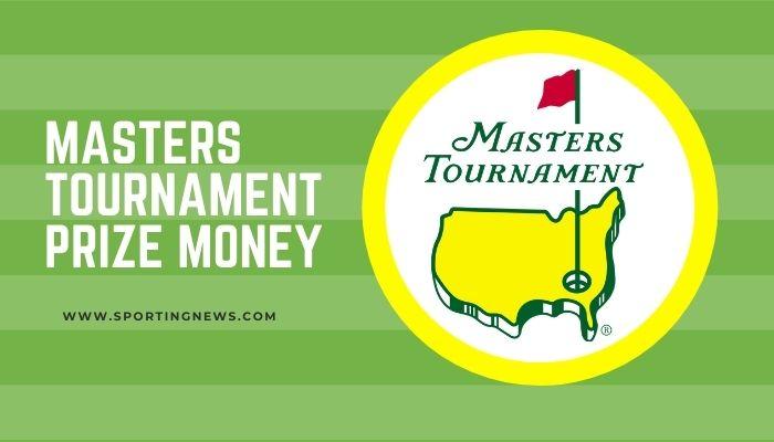 Masters Tournament Prize Money