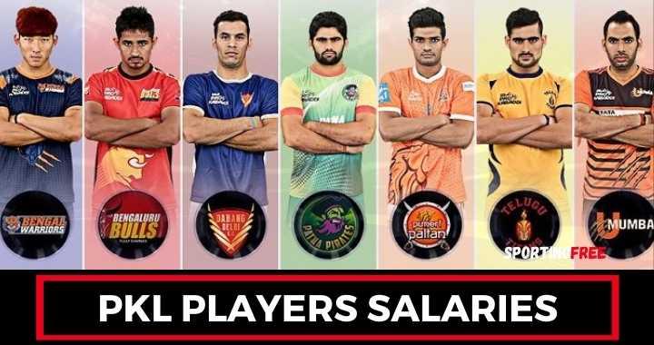 Pro Kabaddi League Players Salaries