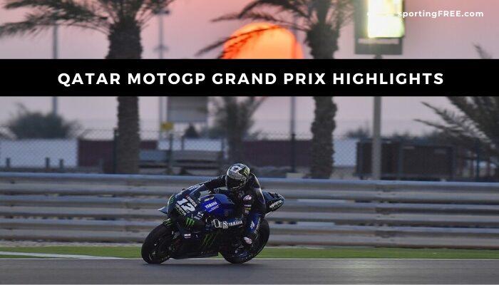 Qatar MotoGP 2021 highlights replay video