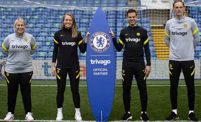 Chelsea FC Training Kit Wear to be Sponsored by Trivago