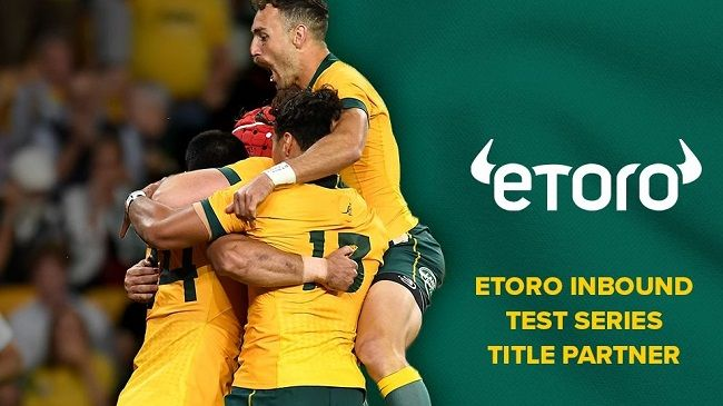 Rugby Australia announces three-year naming rights deal with eToro