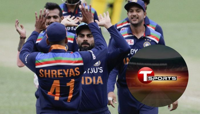 T Sports to Broadcast India Cricket Matches Live in Bangladesh