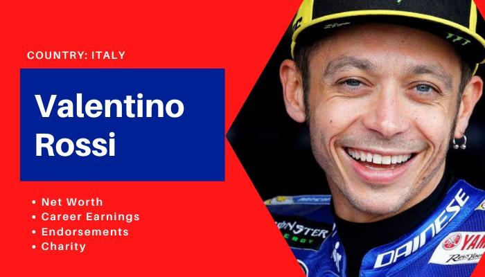 Valentino Rossi Net Worth