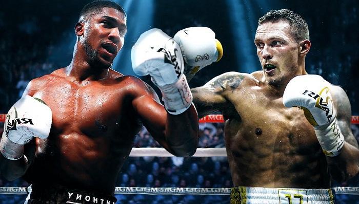 Anthony Joshua vs Oleksandr Usyk fight date