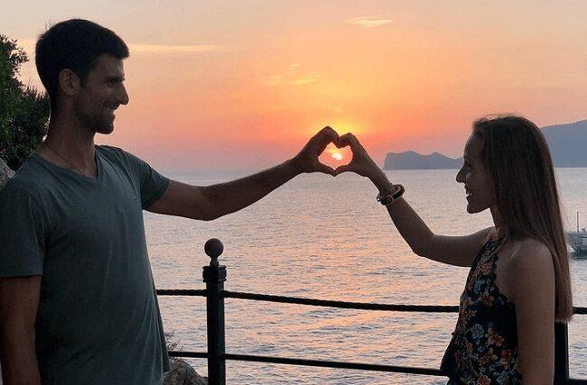 Novak Djokovic Wife, Jelena
