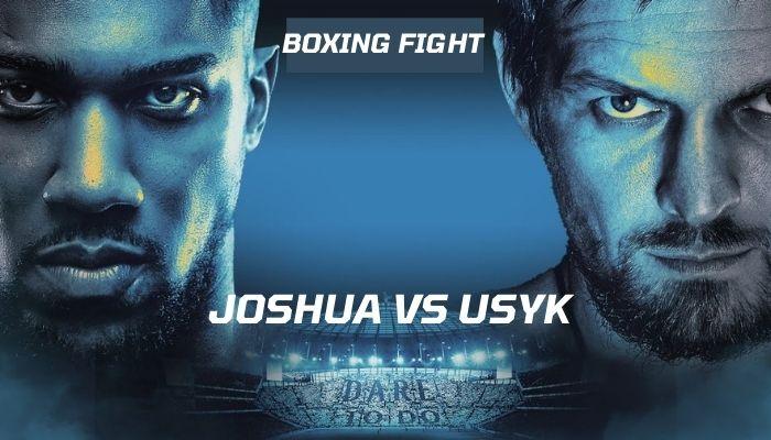 Anthony Joshua vs Oleksandr Usyk Live Streaming