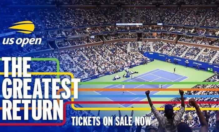 Buy US Open Tennis 2021 Tickets