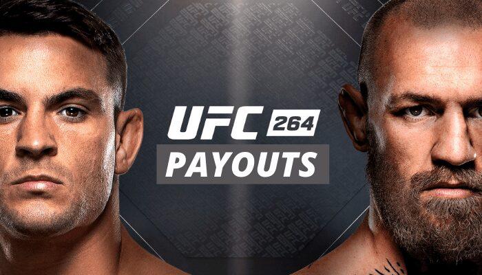 UFC 264 Purse Payouts