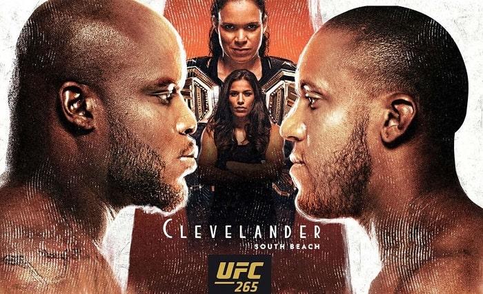 UFC 265 Lewis vs Gane date, time