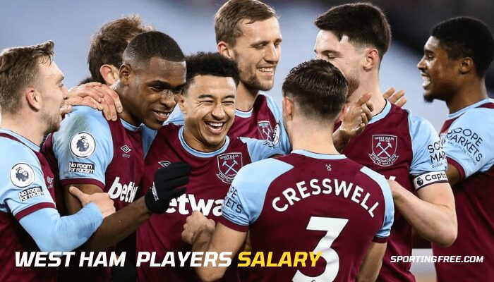 West Ham Players Salary Wages