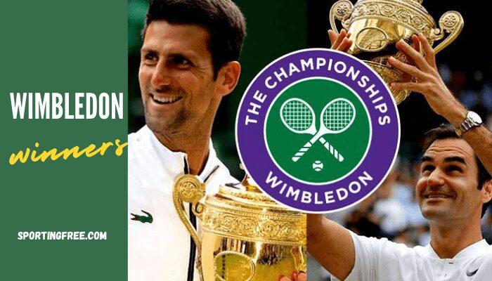 Wimbledon winners men and women