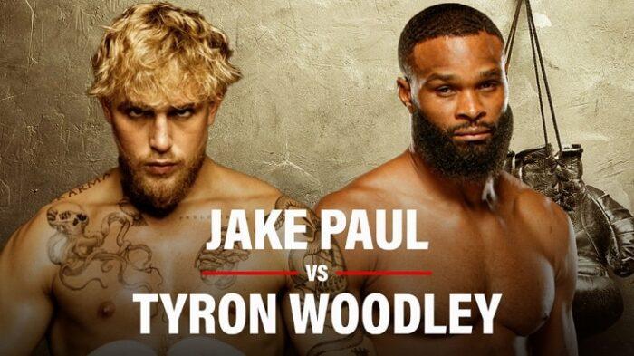 Jake Paul vs Tyron Woodley Live Stream in the UK