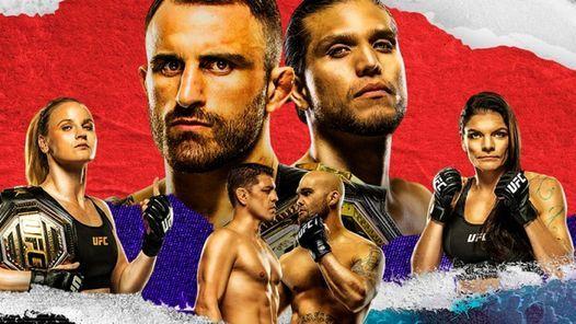 UFC 266 Volkanovski vs Ortega Date, Time & Venue
